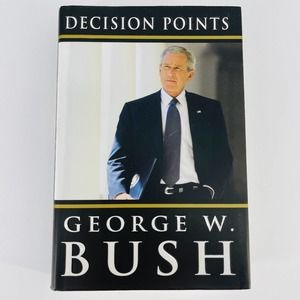 Decision Points book by George W. Bush - GUC